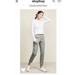 ⭐️NWT The Script Claudia trouser shopbop